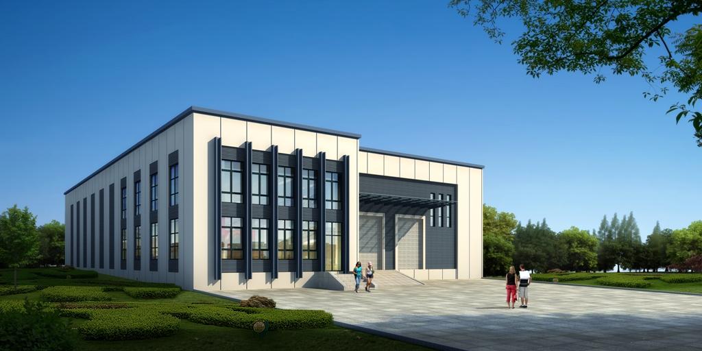 Laufendes Bauprojekt in Ahrensburg für LeuchTek Büro und Lager